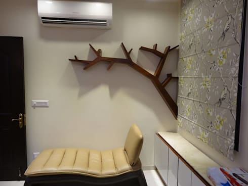 Villa Interiors at Ghaziabad: modern Study/office by Ar. Sandeep Jain