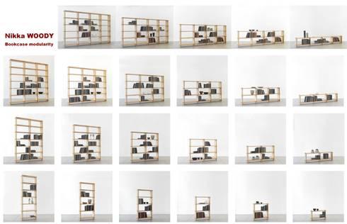 Nikka WOODY la prima rivoluzionaria libreria modulare ecologica di ...