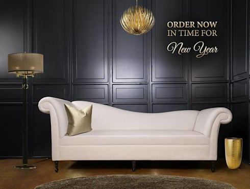 عرض السنة الجديدة 2017 : modern Living room تنفيذ Englander Line.SA