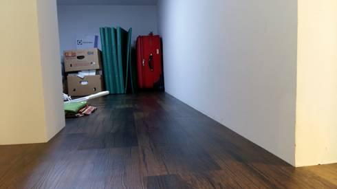 눌치재: 아키제주 건축사사무소의  벽지 & 바닥