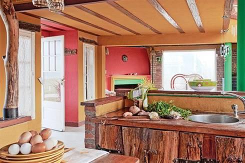 Casa Camet Norte: Cocinas de estilo rural por Susana Bellotti Arquitectos