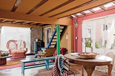 Casa Camet Norte: Comedores de estilo rústico por Susana Bellotti Arquitectos