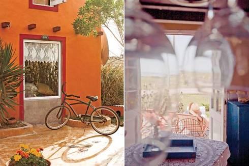 Casa Camet Norte: Jardines de estilo rústico por Susana Bellotti Arquitectos