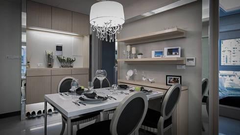 BRAVO INTERIOR DESIGN & DECO    SCAN STYLE:  餐廳 by 璞碩室內裝修設計工程有限公司