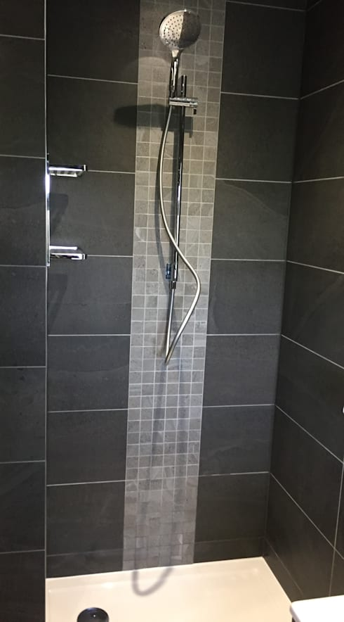 Whittle le woods: modern Bathroom by aqua: