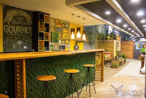 Entrada U0026 Área Funcional: Espaços Gastronômicos Por Nankyn Arquitetura U0026  Consultoria