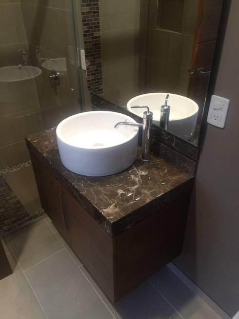 modern Bathroom by Arquimia Arquitectos