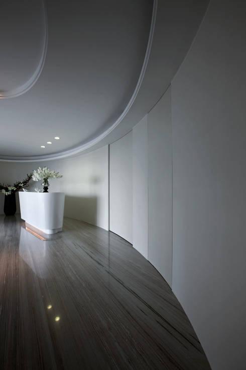 Robest諾本蕬健髮中心:  商業空間 by 大言室內裝修有限公司