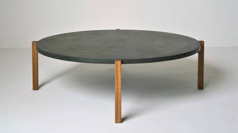 Live Coffee Table: modern Living room by www.mezzanineinteriors.co.za