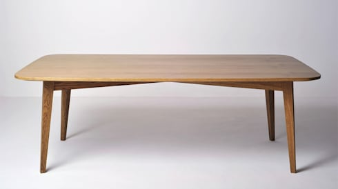 Retro Dining Table: modern Dining room by www.mezzanineinteriors.co.za