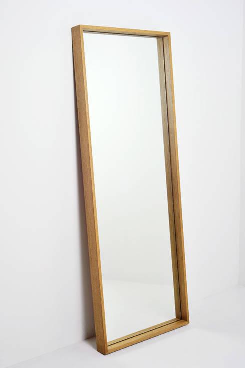 Box Mirror: modern Dressing room by www.mezzanineinteriors.co.za