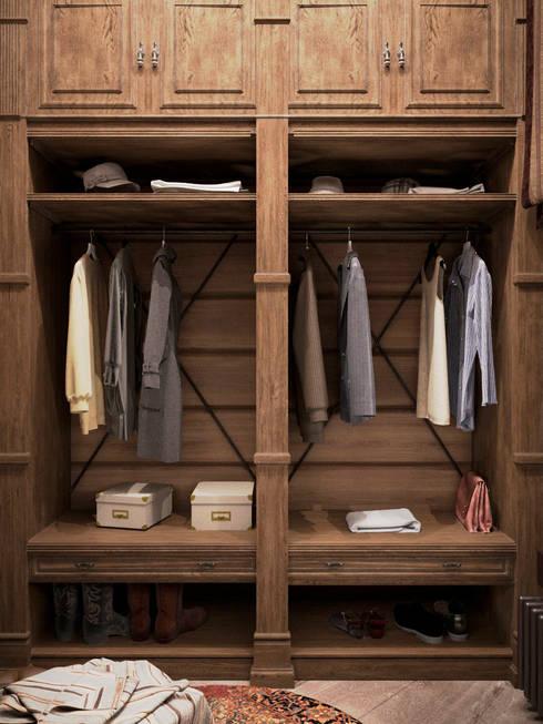 Dressing room by Архитектура Интерьера