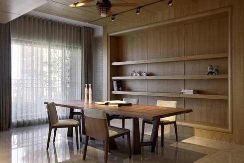 境靜:  餐廳 by 大言室內裝修有限公司