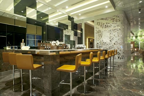 GVK Lounge by TFS Performa (Business Class at Terminal 2, Mumbai):  Airports by ABM ARCHITECTS