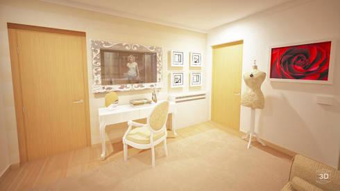LOVE: Quartos modernos por GRAÇA Decoração de Interiores