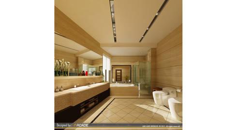 modern Bathroom by ARCADE DESIGNS