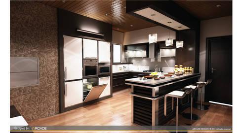 modern Kitchen by ARCADE DESIGNS