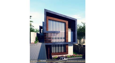 modern Houses by ARCADE DESIGNS