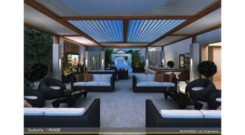 Interior landscaping by ARCADE DESIGNS