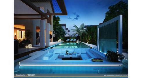 minimalistic Pool by ARCADE DESIGNS