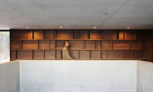 casa SS interiors: Corredores e halls de entrada  por Artspazios, arquitectos e designers