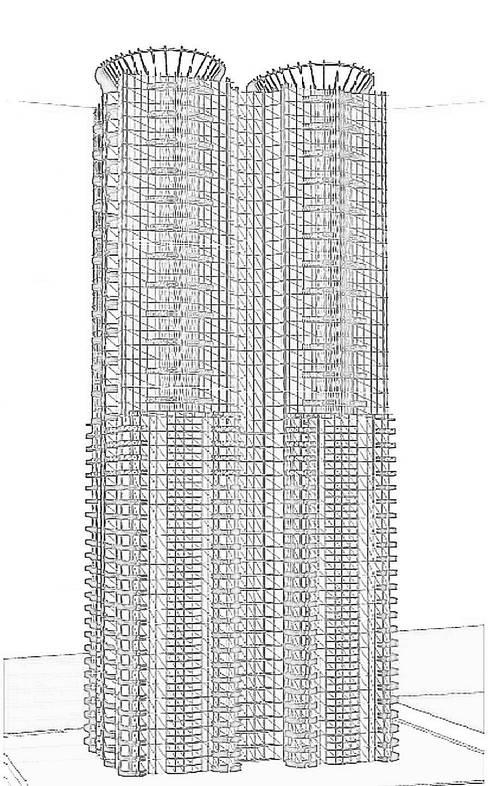 TORRE VISION ALTITTUDE: Casas de estilo moderno por DISEÑO APLICADO AVANZADO DE GUADALAJARA