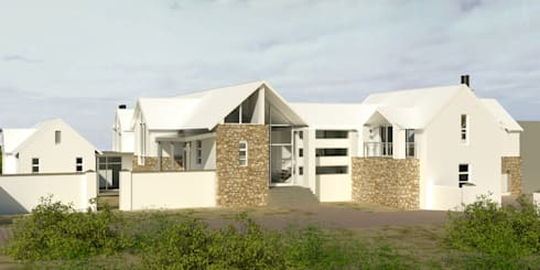 Beach house: country Houses by Urban concept architects