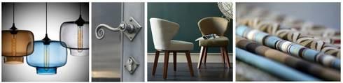Blue colour palette:  Household by Bibby Interior Design