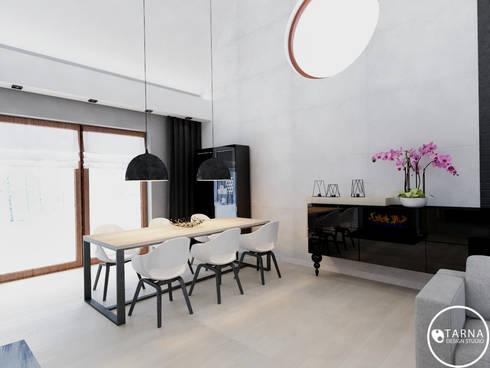 Gdańska Przystań: styl , w kategorii Salon zaprojektowany przez Tarna Design Studio