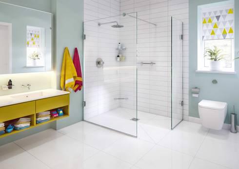 Bathroom CGI Visualisation #8: classic Bathroom by White Crow Studios Ltd