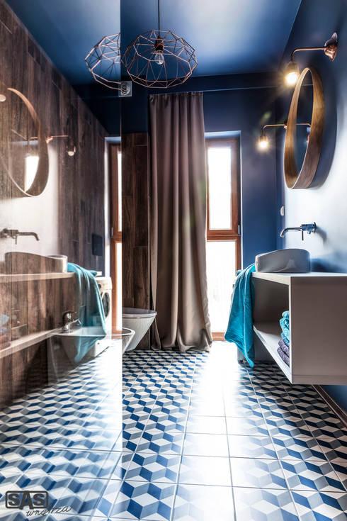 Ванные комнаты в . Автор – SAS