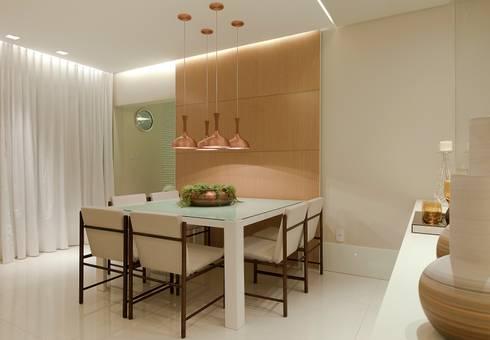 Salas de jantar modernas por Matheus Menezes Arquiteto