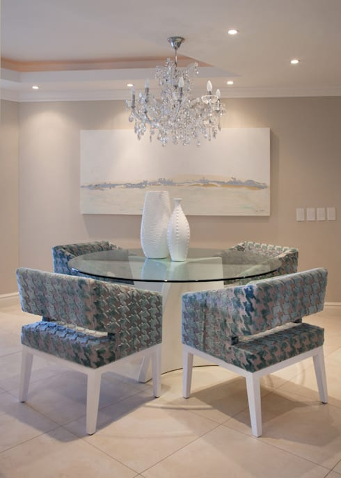Project #: modern Dining room by Frans Alexander Interiors