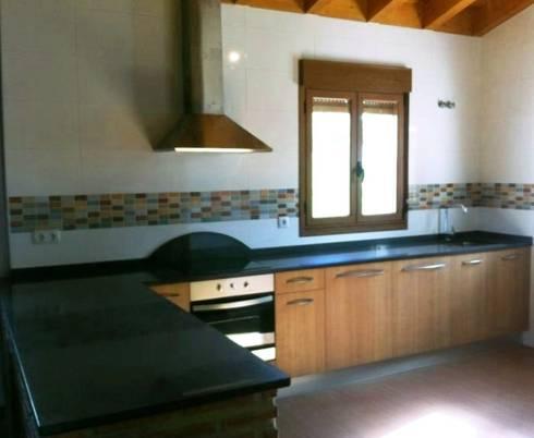 muebles de cocina rusticos cocinas de estilo rural de modos hogar - Muebles De Cocina Rusticos