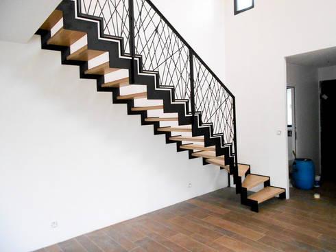 garde corps en m tal par passion bois homify. Black Bedroom Furniture Sets. Home Design Ideas