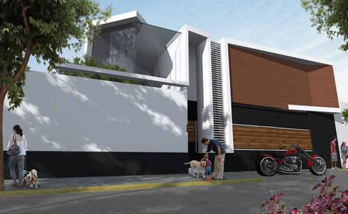 Remodelación : Casas de estilo moderno por Arquitectos M253