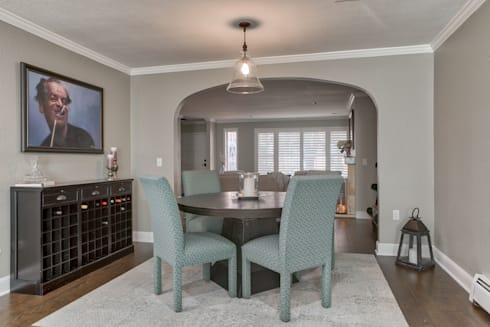 Cherry Creek Town Home : classic Dining room by Studio Design LLC