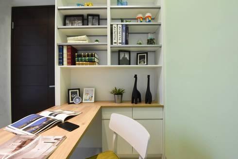 家的品味:  書房/辦公室 by 皇室空間室內設計