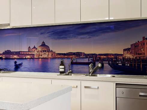 Pannelli schienali retro cucina personalizzati di lizea sas homify - Pannelli paraschizzi per cucina ...