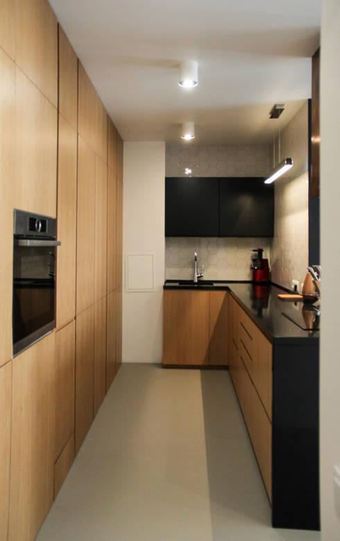 minimalistic Kitchen by Мастерская Grynevich Dmitriy