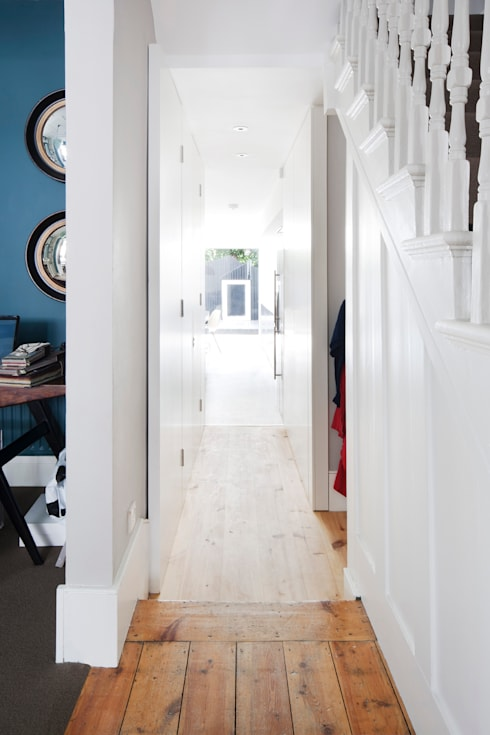 View from Hallway.:  Corridor & hallway by Gundry & Ducker Architecture