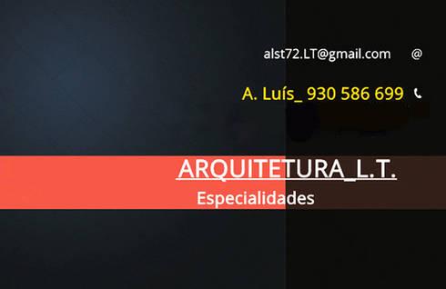 Estudos, Projetos, Especialidades e Outros:   por alst72.lt