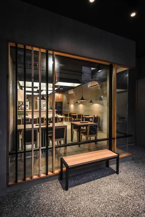 商空 │ 澄食 和食料理 │ 南投:  辦公室&店面 by 匯羽設計 / Hui-yu Interior design