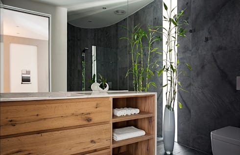 Exner Penthouse: modern Bathroom by 2MD Exclusive Italian Design