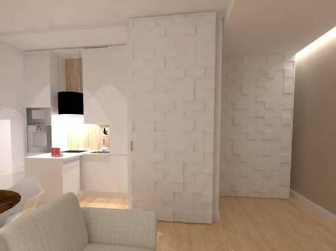 CASA AUGUSTA - Sala Comum: Salas de estar modernas por EGO Interior Design