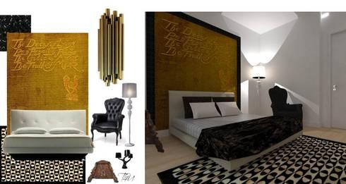 CASA AUGUSTA - Quarto: Quartos modernos por EGO Interior Design