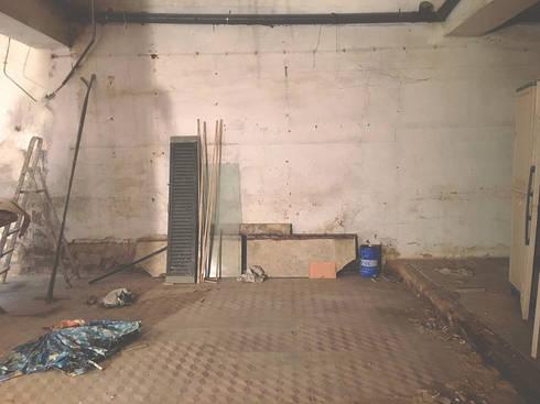 Loja 63A, Cave - Antes:   por HC Construções