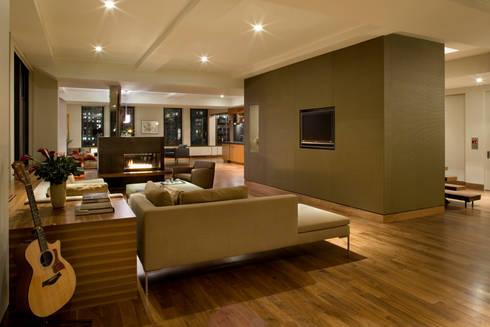Empire State Loft, Koko Architecture + Design: modern Living room by Koko Architecture + Design