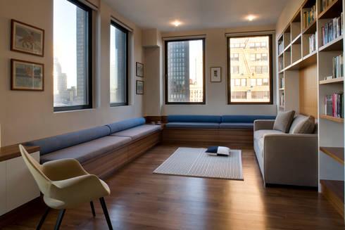 Empire State Loft, Koko Architecture + Design: modern Study/office by Koko Architecture + Design