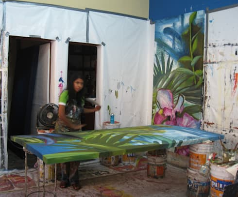 Proceso: Arte de estilo  por ANTAVIA WALL DECOR